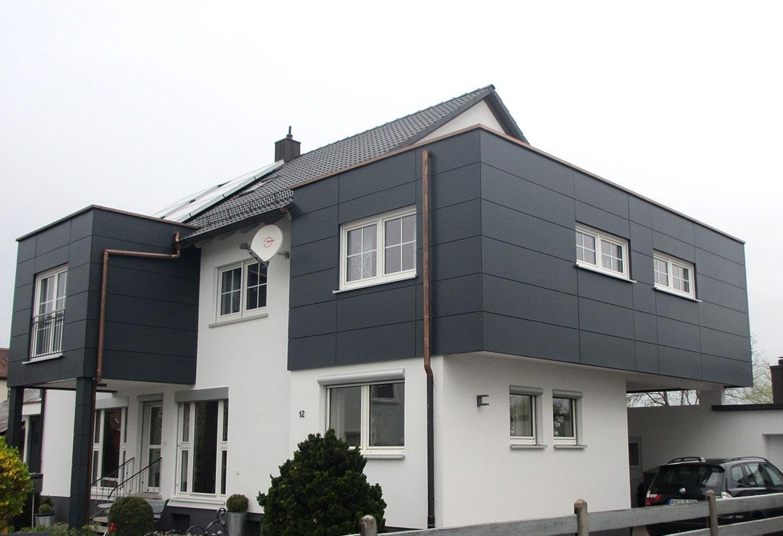 Modernes Holzhaus holzhaus